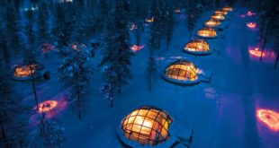 Kakslauttanen, hotels, resort, facts, travel