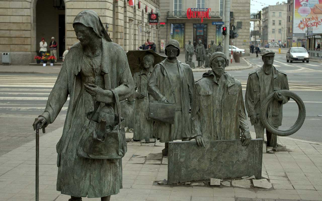 Passage by Jerzy Kalina, Wroclaw, Poland, Europe, facts