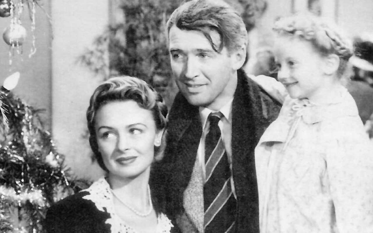 It's A Wonderful Life, Christmas, movie, ad, secrets