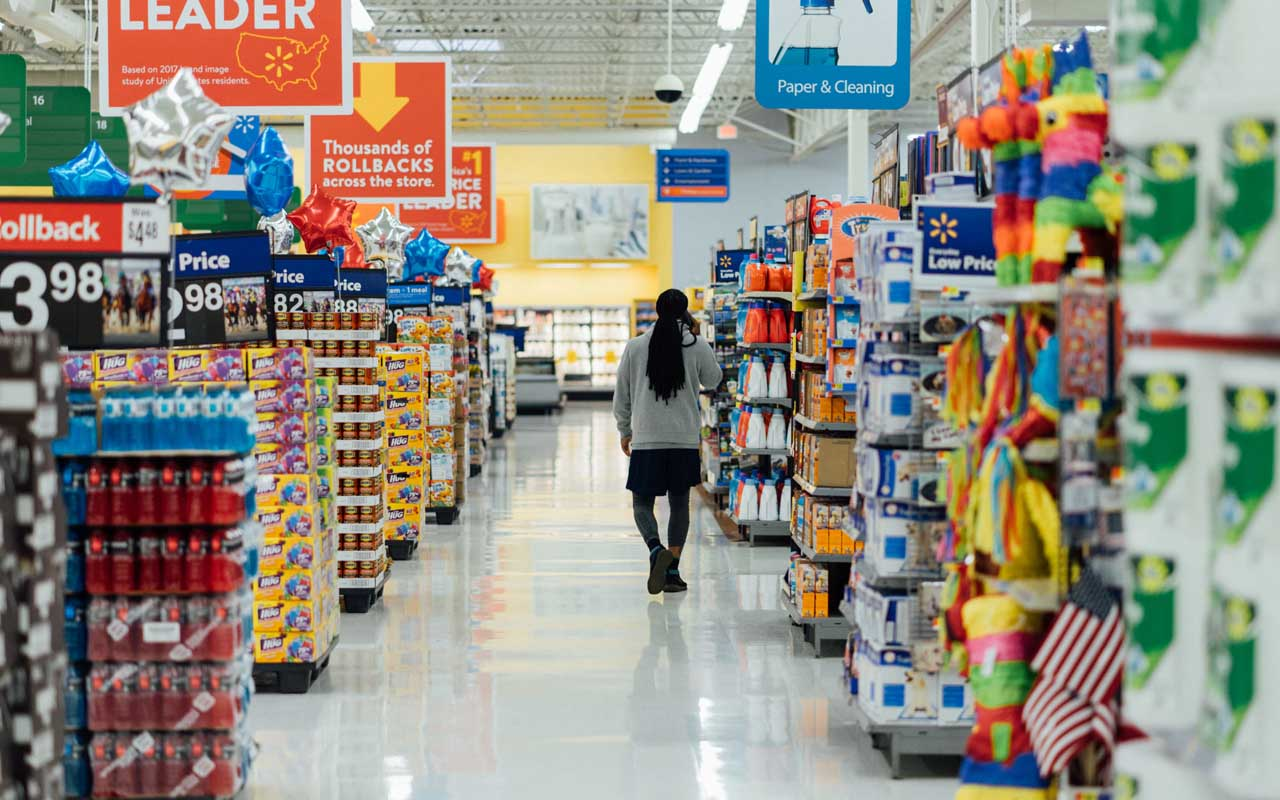 food, snacks, Walmart, aisle, snack