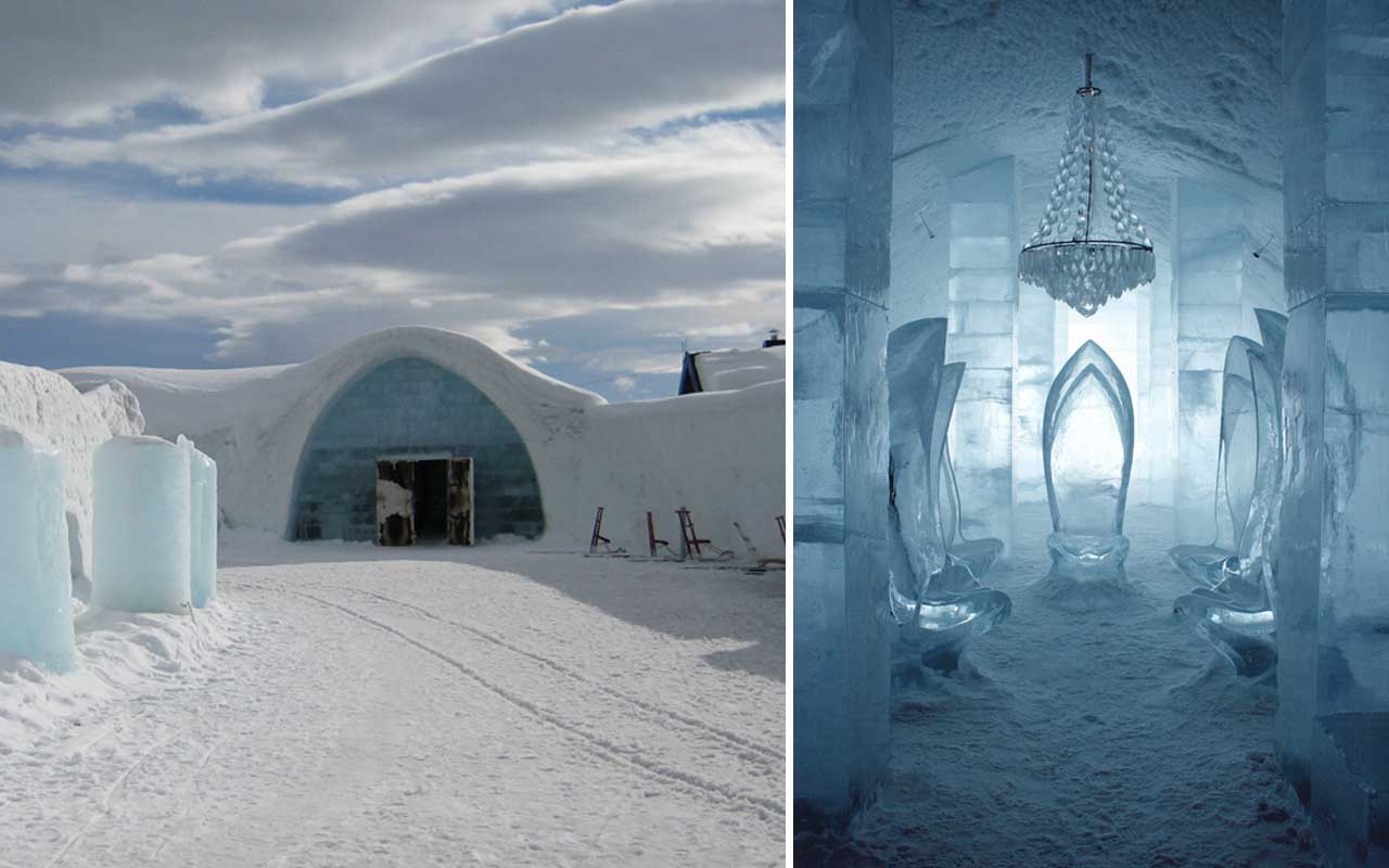 Sweden Ice Hotel, facts, travel, tourism, life