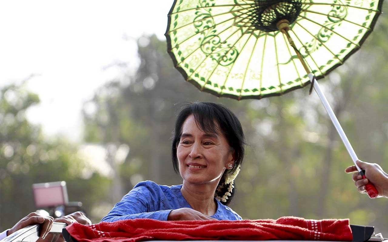 Aung San Suu Kyi, China, women, facts