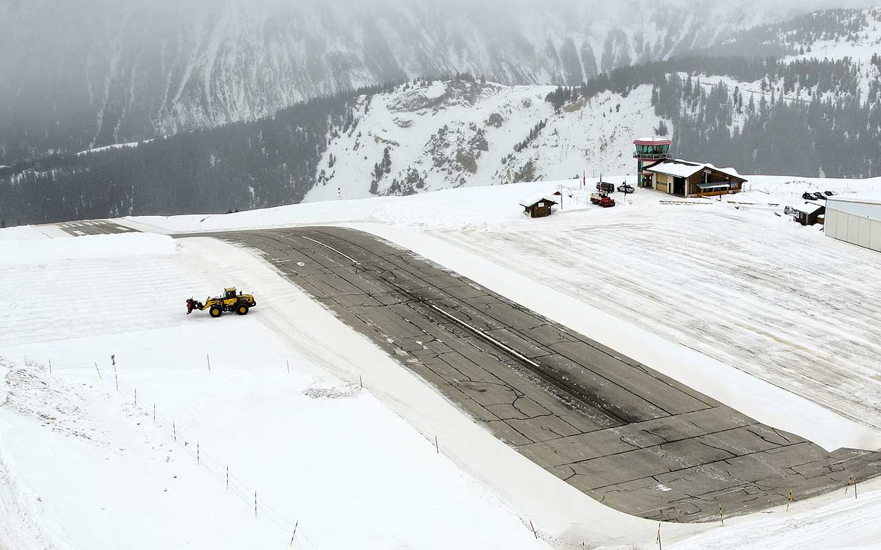 Courchevel Airport, Courchevel, France, travel, airports, adventure, flying