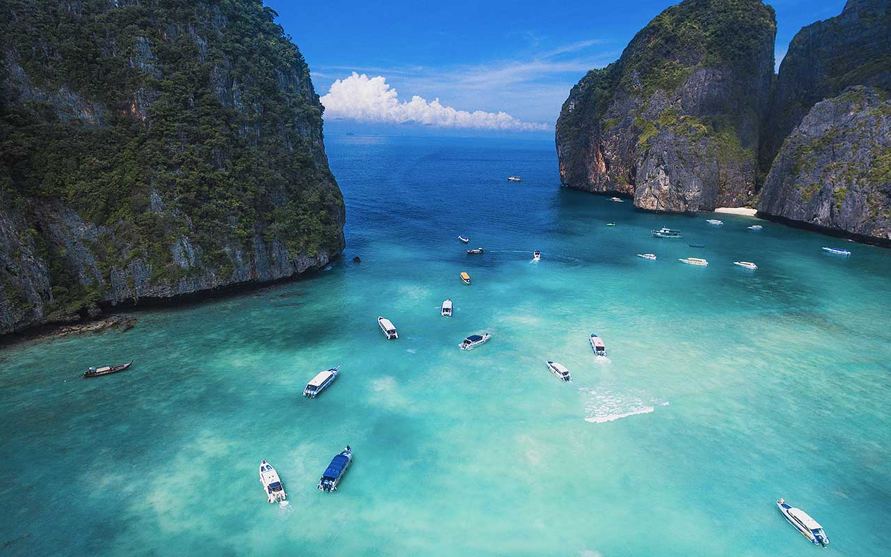 Maya Bay, Ko Phi Phi, Thailand, beaches, life, travel, facts, people, explore