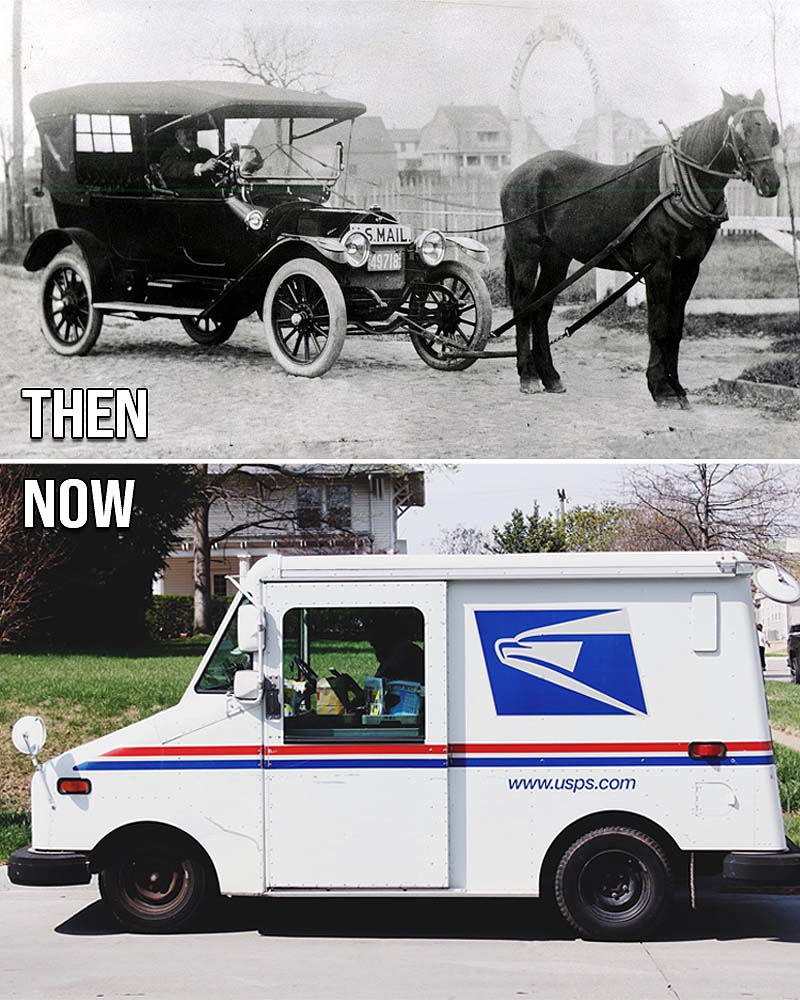 USPS, US mail, life, people, facts, weird, history, changed