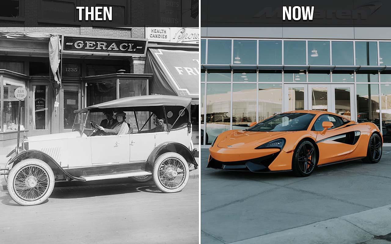 Ferrari, McLaren, sports car, life, History, Allen Car, facts
