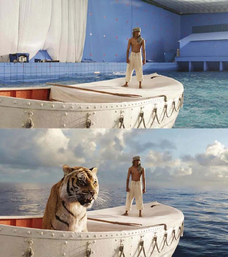 The Life of Pi, movie, facts, special effects