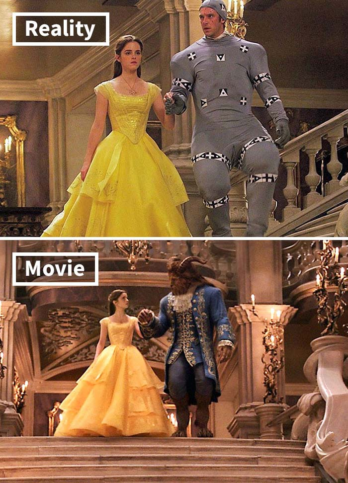 Beauty And The Beast, movie, facts, special effects, Hollywood, Disney