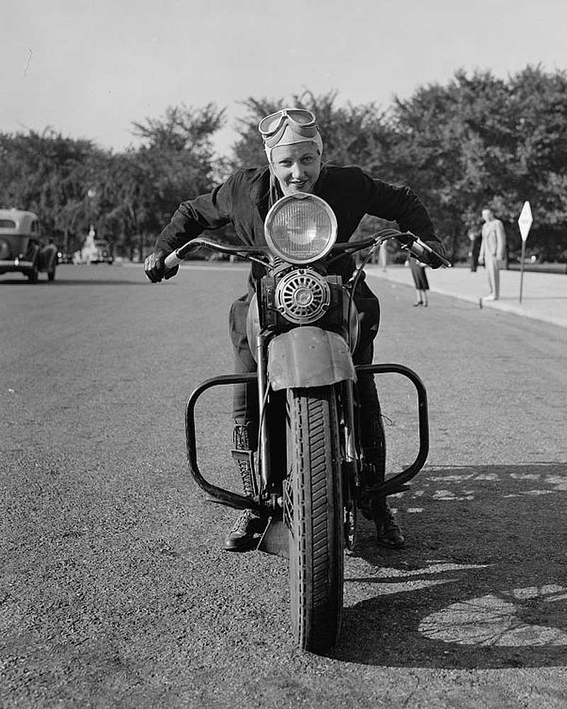 Sally Halterman, woman, bike, license, life, famous, people, facts