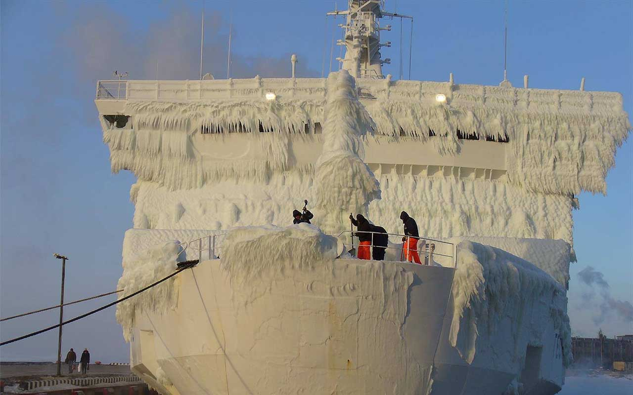 iced ship, facts, life, people, jobs, history