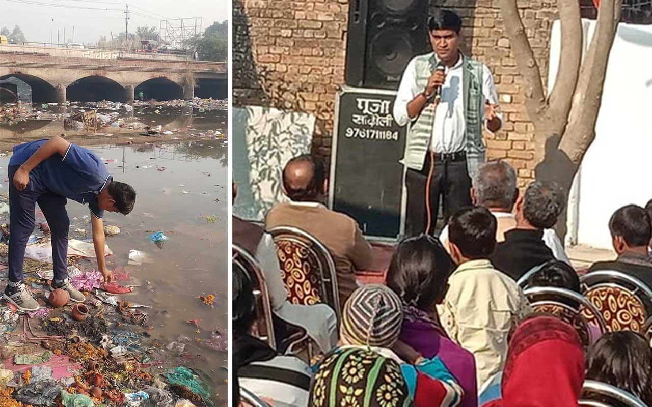 lakes, Ramveer Tanwar, man, Uttar Pradesh, life, rescue, facts