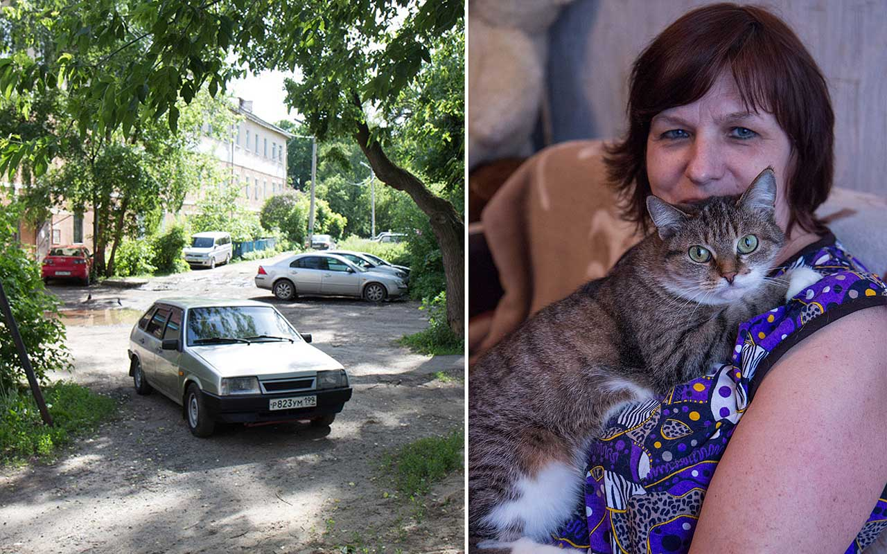 car, cat, people, money, life, facts, Russia, captivating