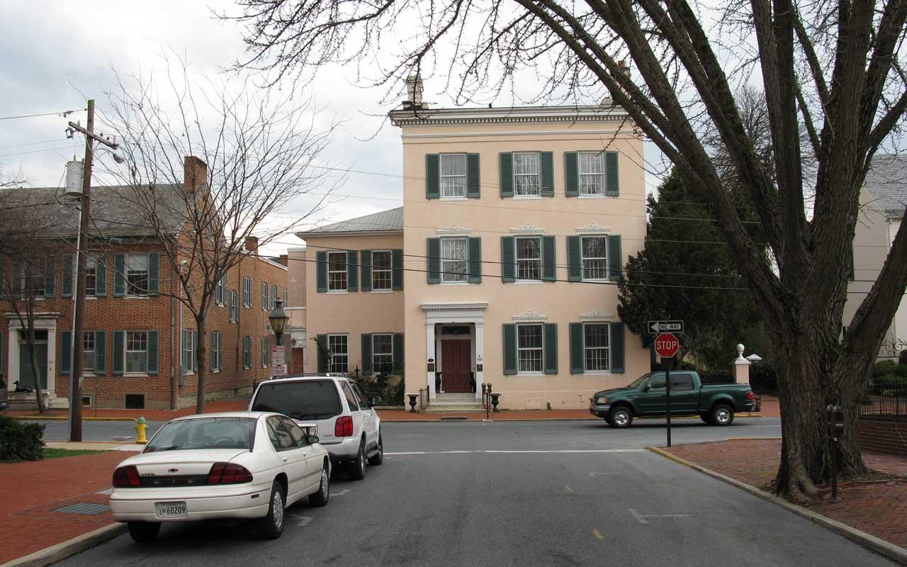 Tyler-Spite House, Frederick, Maryland, spite house, facts, history, life