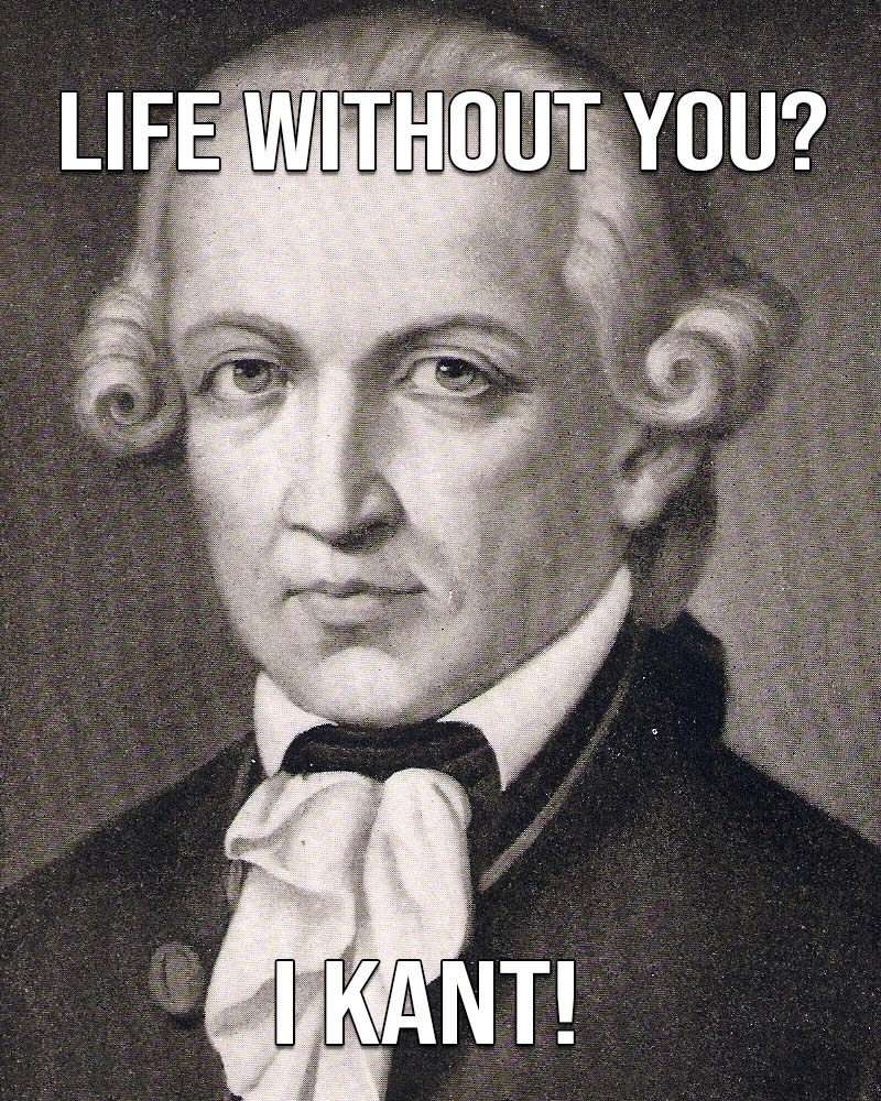 Immanuel Kant, Valentine's, love, life, facts