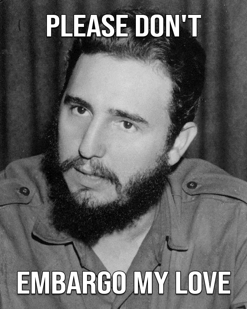 Fidel Castro, life, funny, Valentines, weird