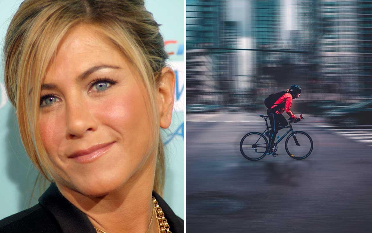 Jennifer Aniston, Bike Messenger, women, celebrities, facts, fame, life