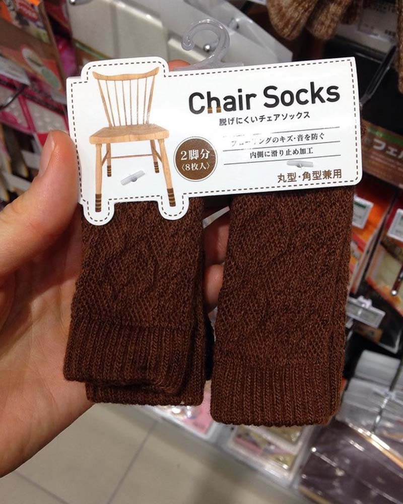 knitted socks, chair, Japanese, life, people, survival