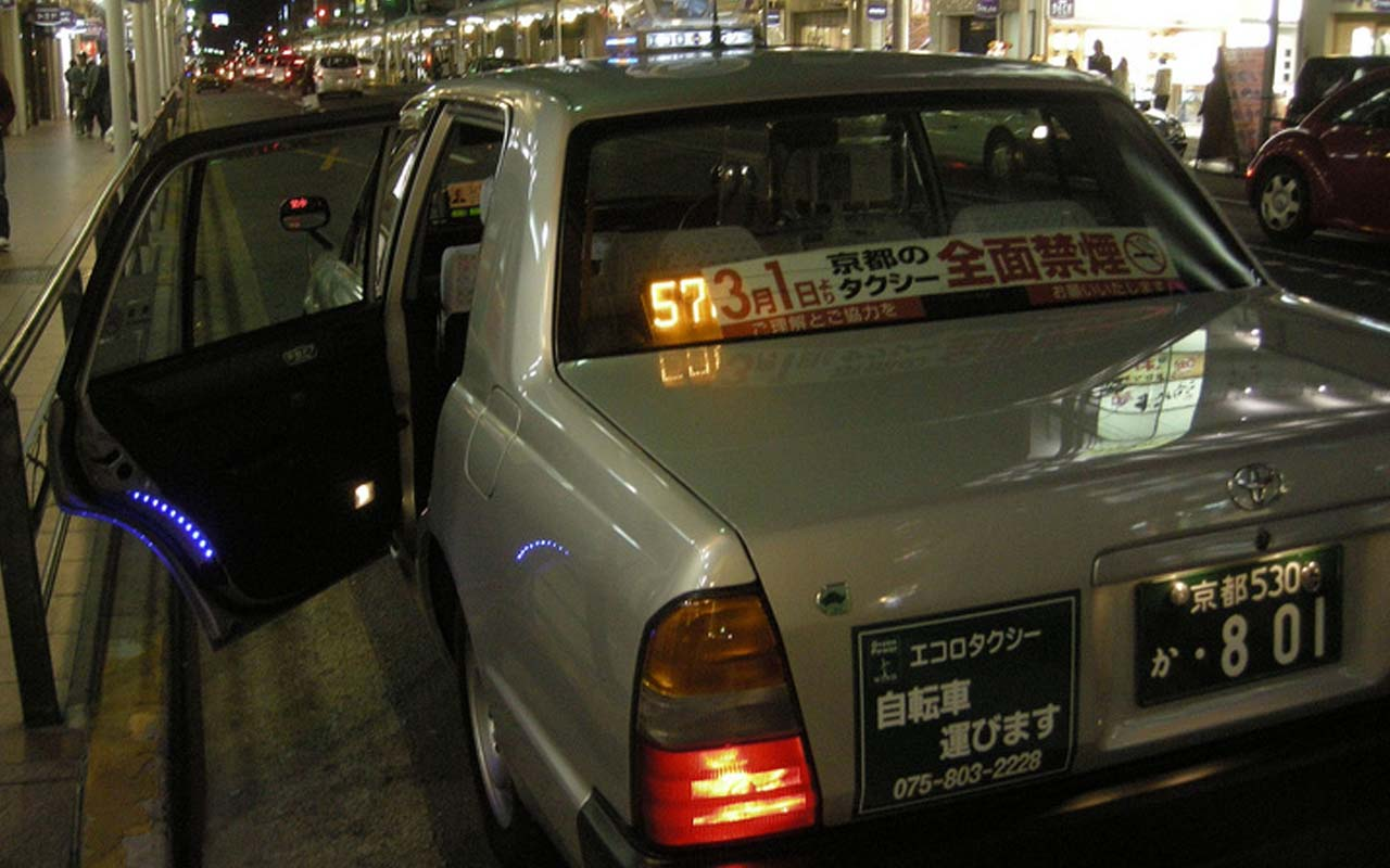 taxi, Japan, facts, life, people technology, science, Japanese