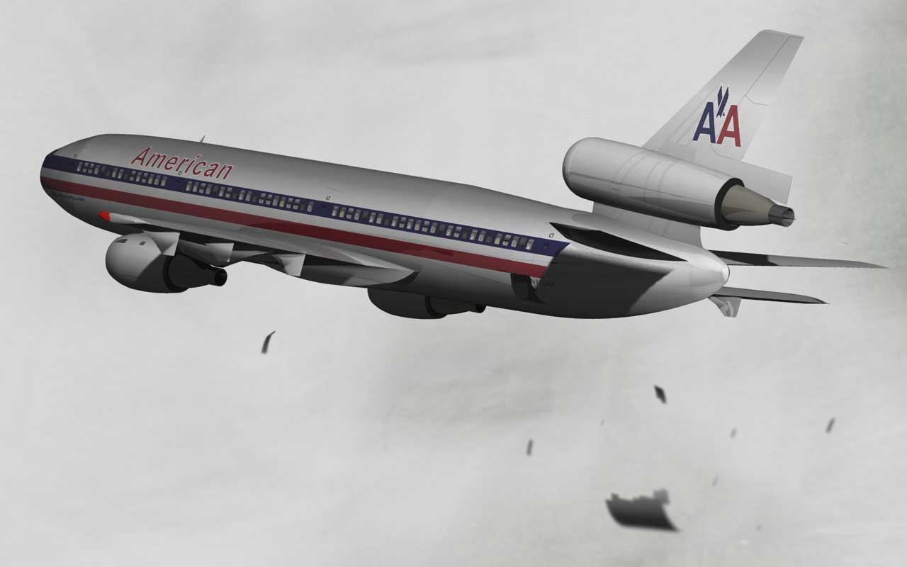 American Airlines Flight 96, Windsor, pilots, life, people, facts, survival