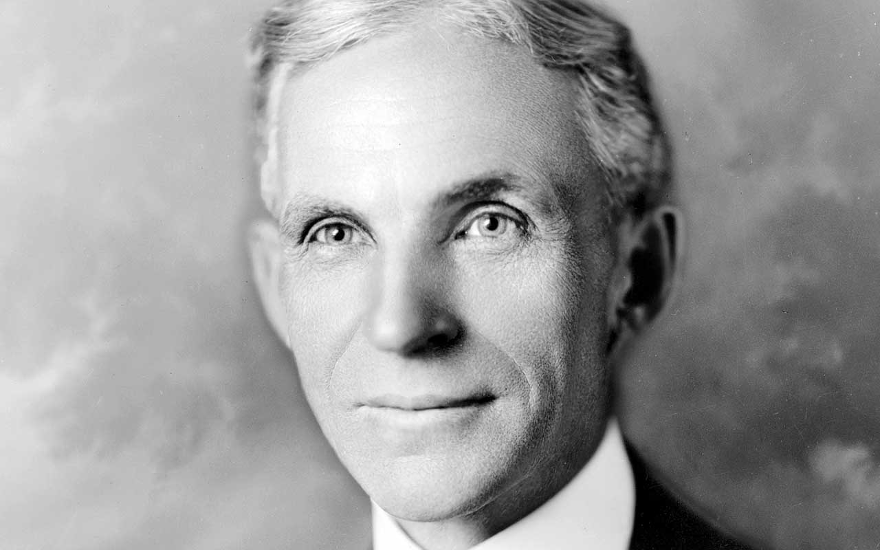 Henry Ford, history, prominent, life, facts, people