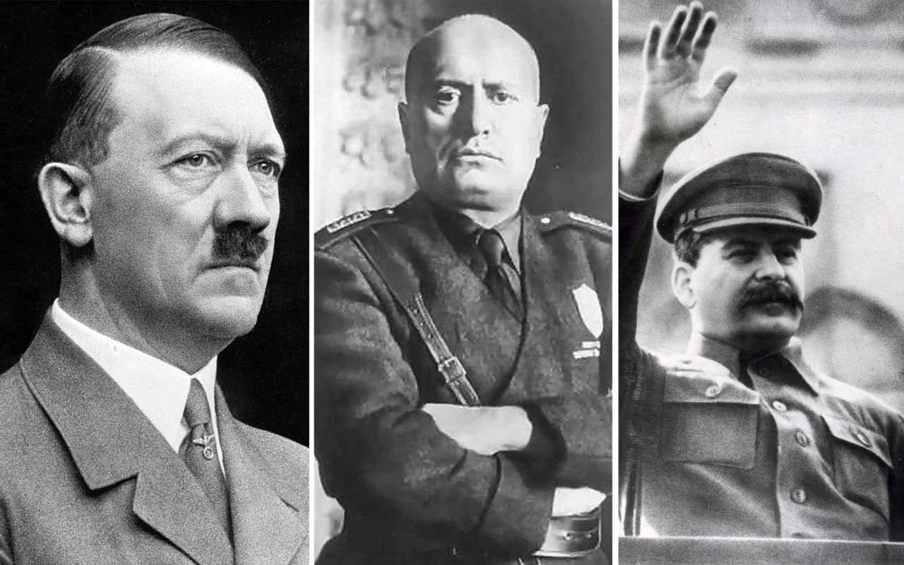 Mussolini, Hitler, facts, Stalin, Nobel Prize, prominent