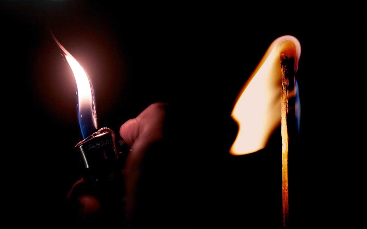 lighter, matchsticks, life, history, science, facts, true