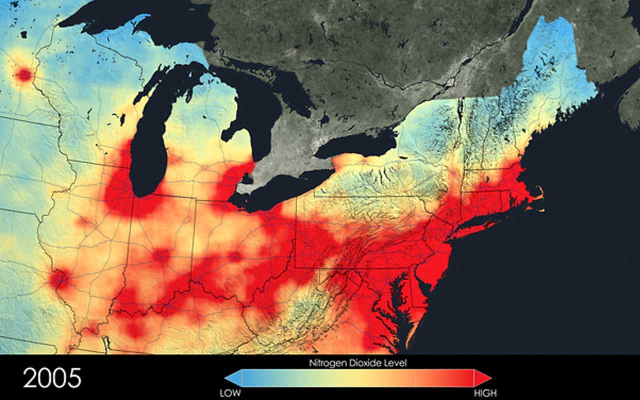 air pollution, USA, facts, life, people, science, entertainment