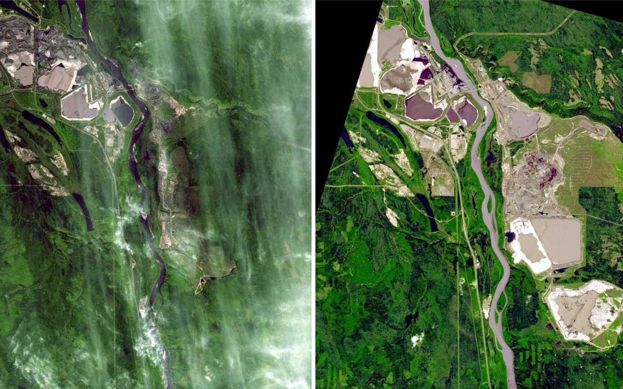 NASA, EOS, Earth, transforming, facts, planet, nature, Canada, Alberta, oil