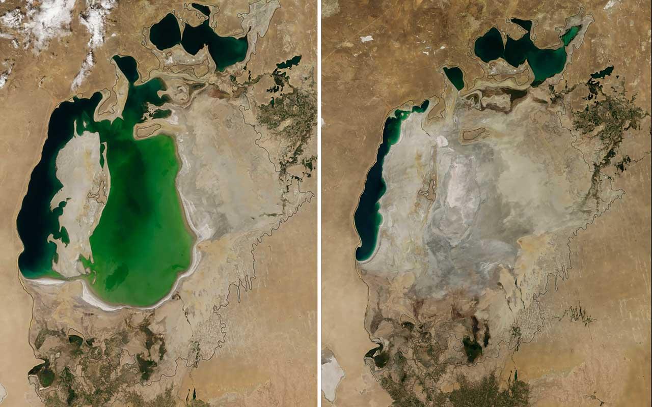 NASA, EOS, Japan, Colorado River, shrinking, facts, transforming, life