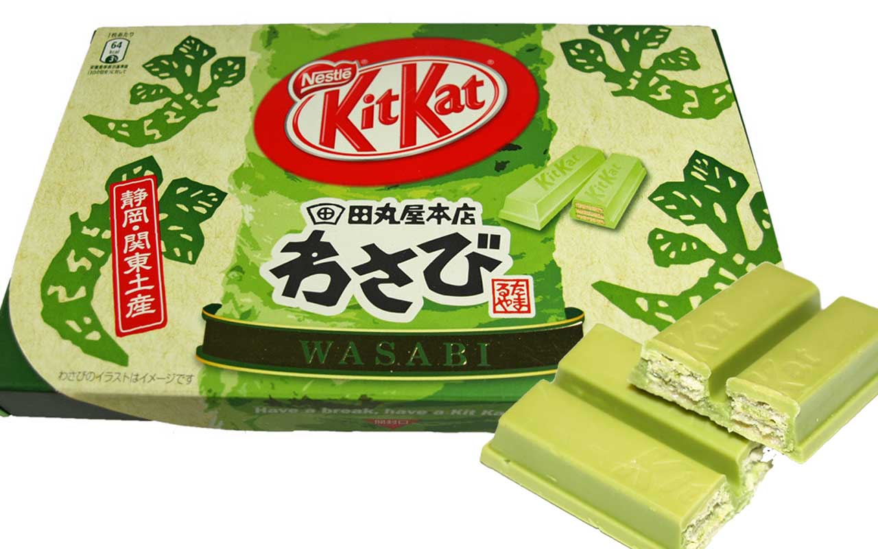 Kit Kat, wasabi, flavor, facts, food, life, candies