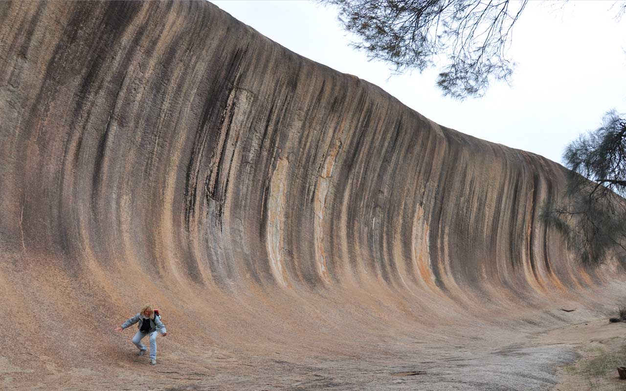 Wave Rock, Australia, incredible, facts, nature, life, people