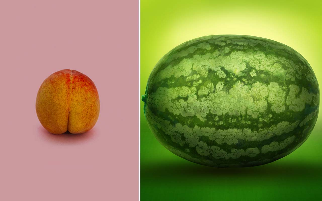 watermelon, peach, uterus, size, pregnancy, facts, health, women