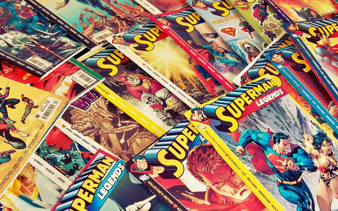 Superman comic, Marvel, superhero, life, people, facts, finds, storage unit