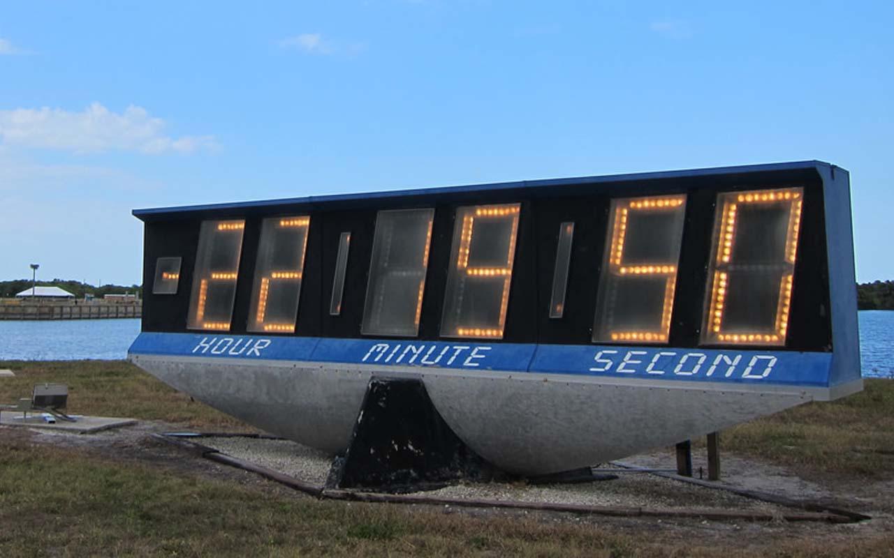 NASA, countdown clock, science, technology, facts, storage
