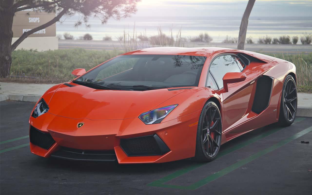 Orange Lamborghini, sports car, life, facts, storage