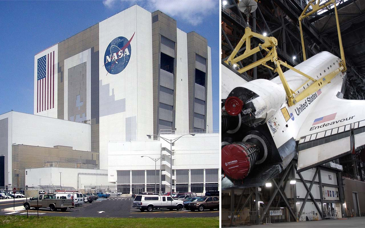 NASA, weather, clouds, vehicle assembly building, tell, facts