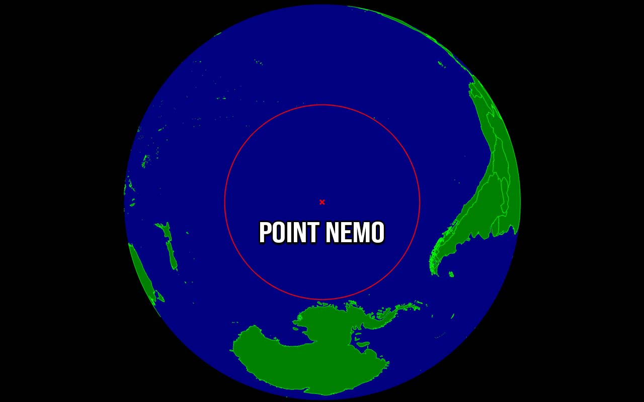 Point Nemo, ocean, Earth, nature, unbelievable, facts, people, travel,\