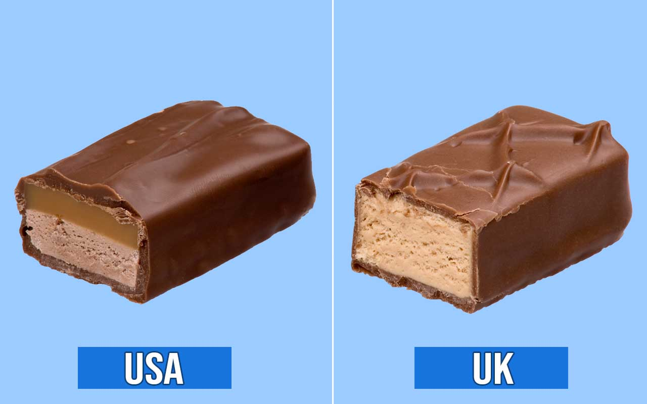 Milky Way, bars, foods, candy, chocolate, countries, facts, surprising