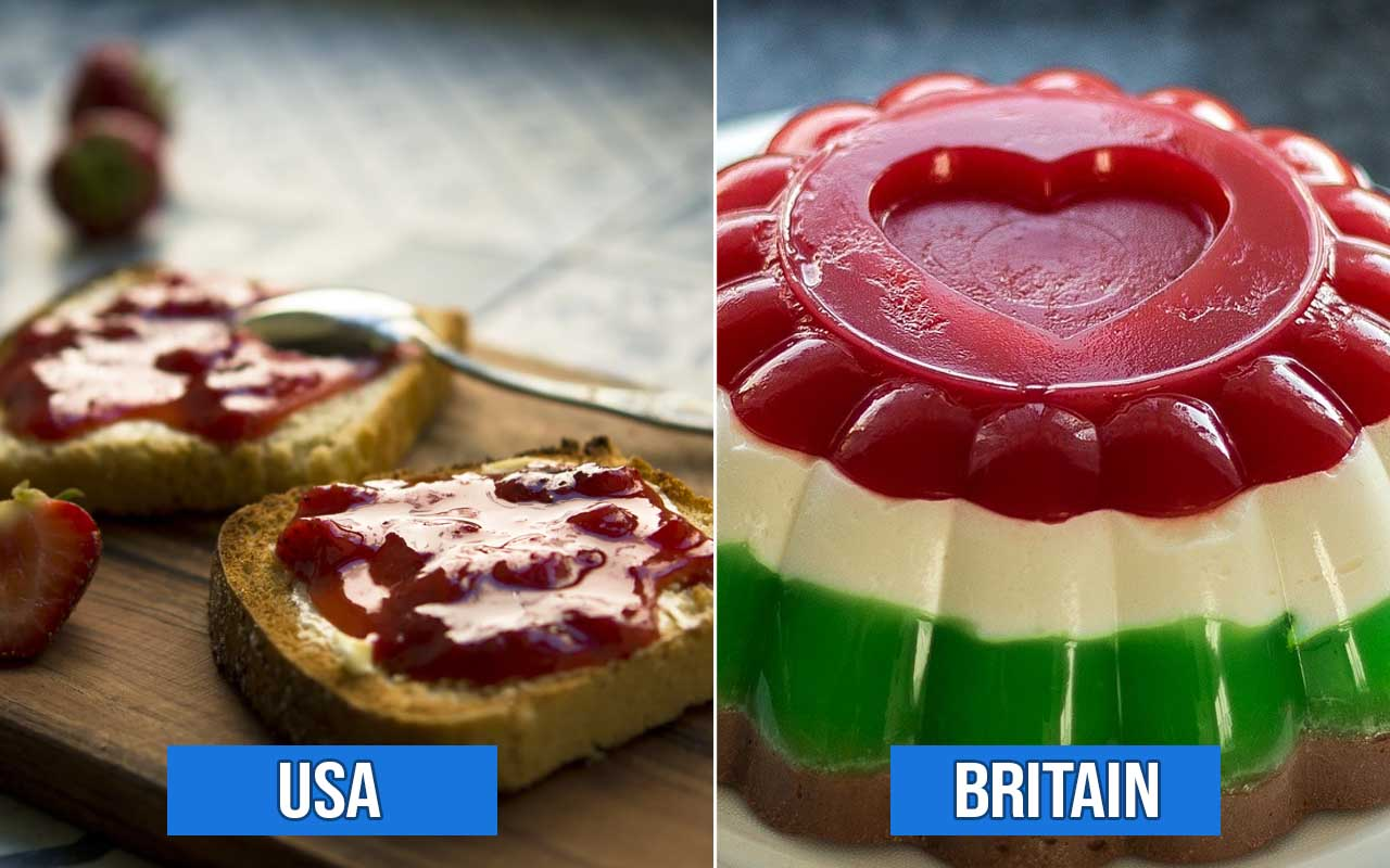 Britain, countries, facts, foods, life, surprising