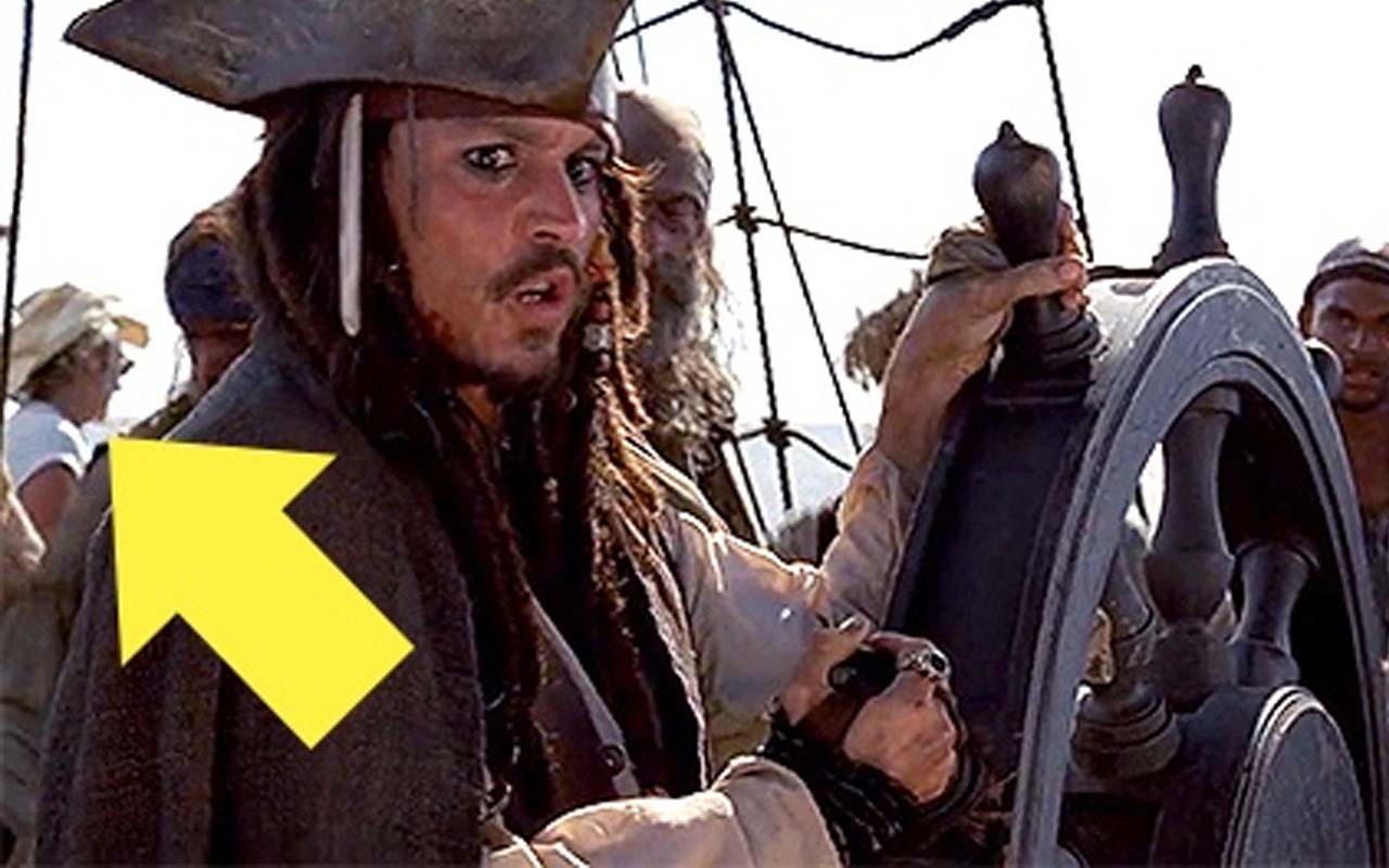 Pirates of the Caribbean, facts, movies, life, mistakes
