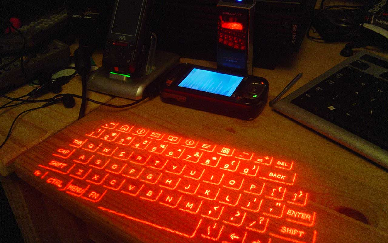 projection keyboard, facts, life, technologies, people