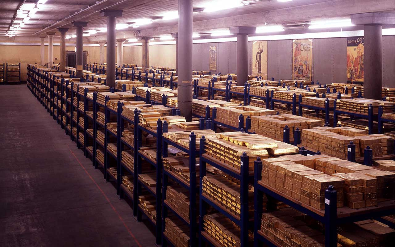 Bank of England, gold vault, people, discoveries, life, history, facts