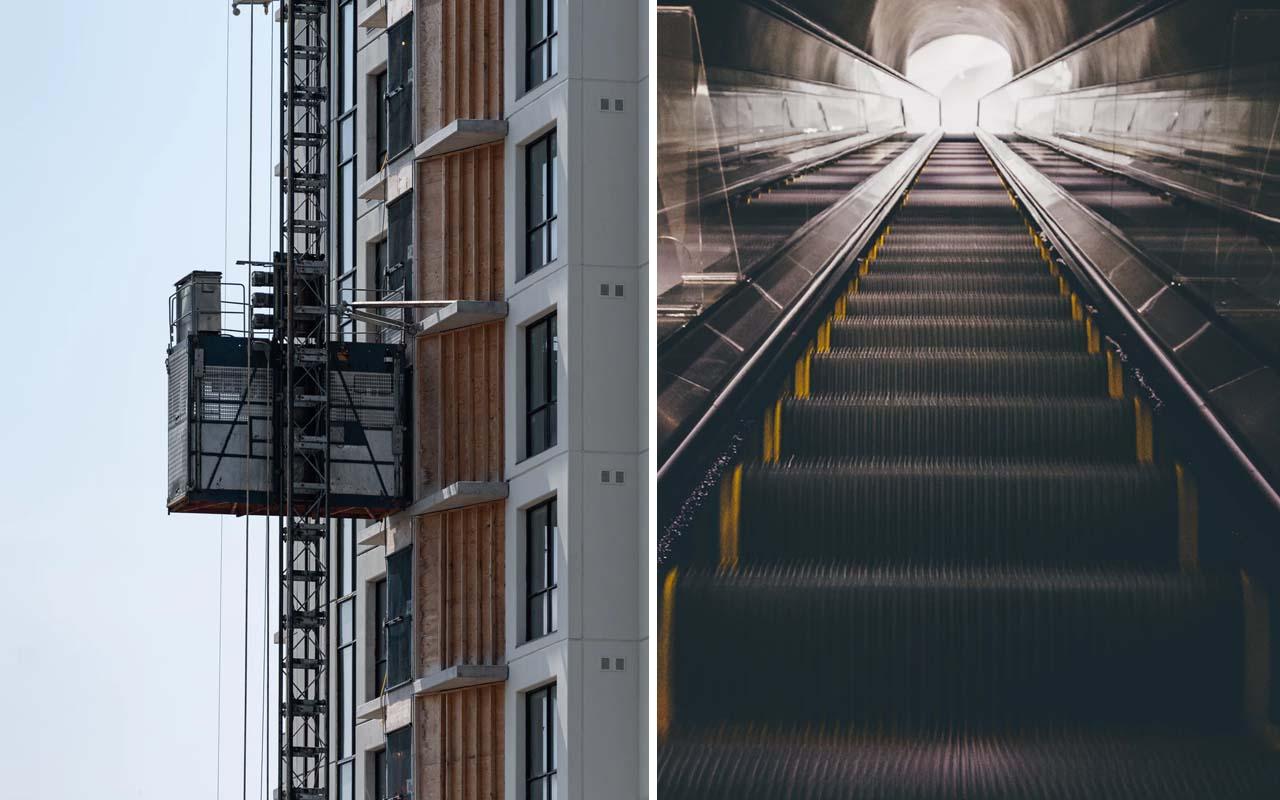 escalator, elevator, facts, science, life, repairman, career