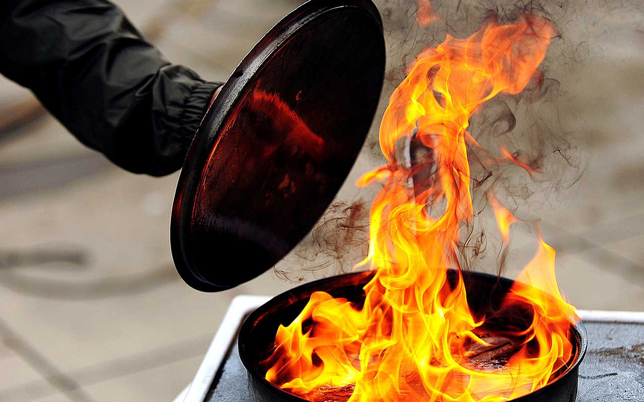 grease fire, foods, facts, life, people, save your life