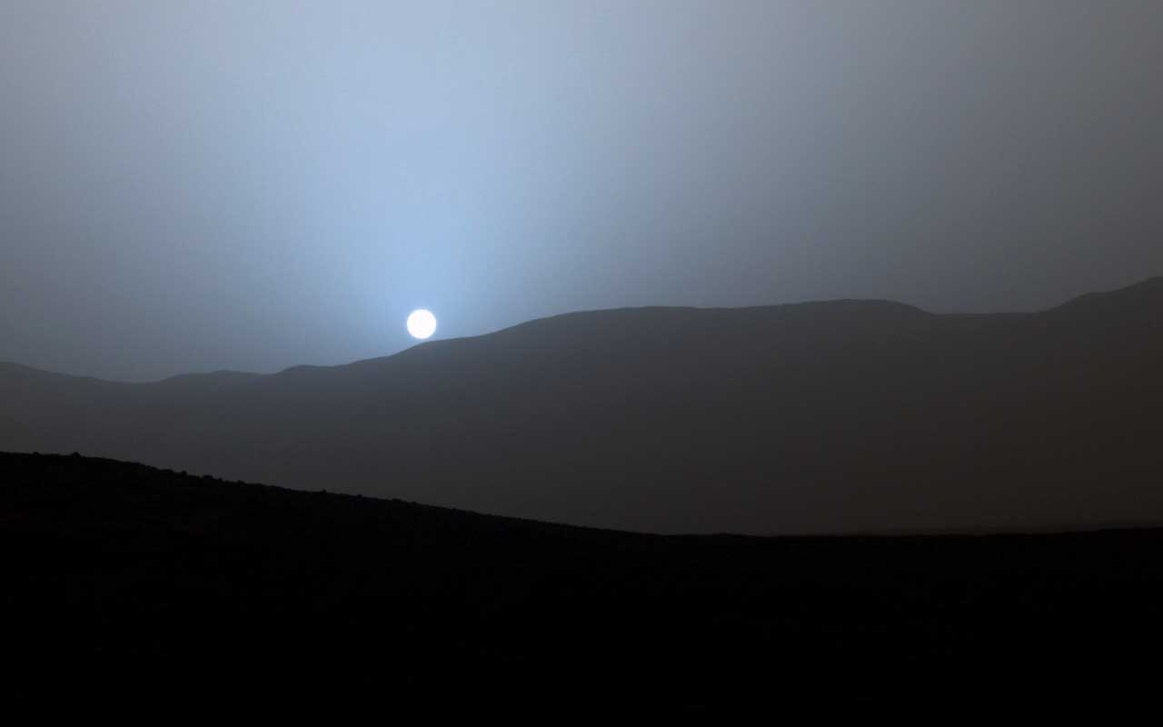 sunset, Mars, NASA, Earth, planet, facts, science, World