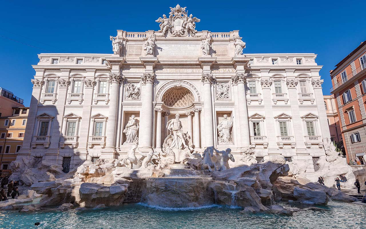 Rome, fountain, facts, travel, people, bath, life, Europe