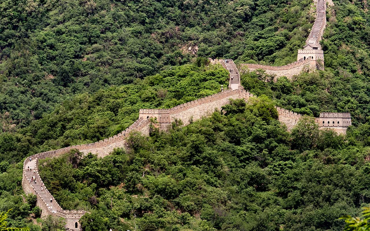 Great Wall of China, space, common facts, life, science, entertainment, people