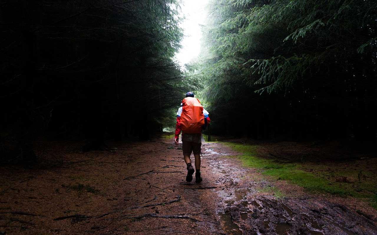 hiking, rain, lightning, facts, people, nature, rain