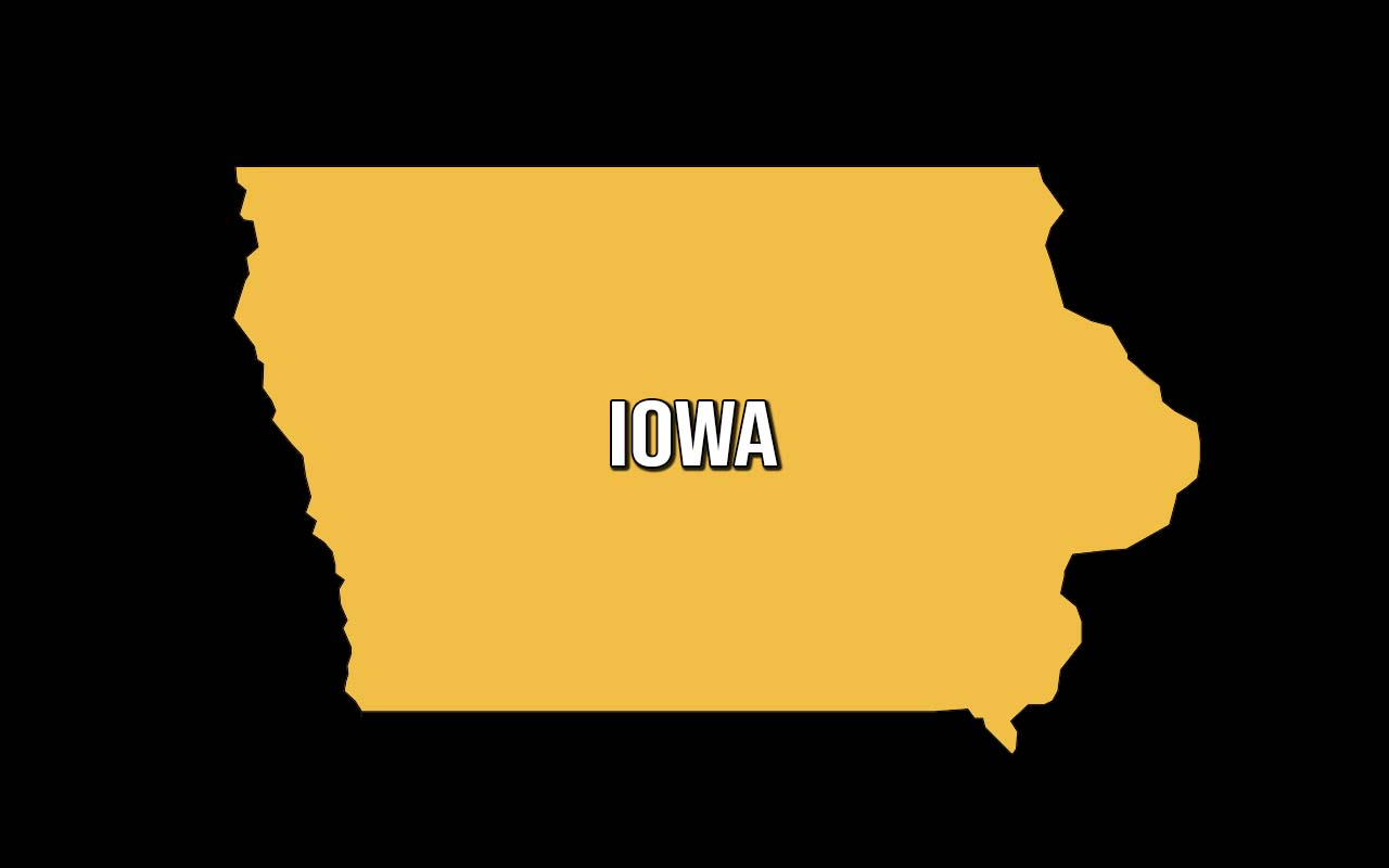 Iowa, law, facts, people, butter, history