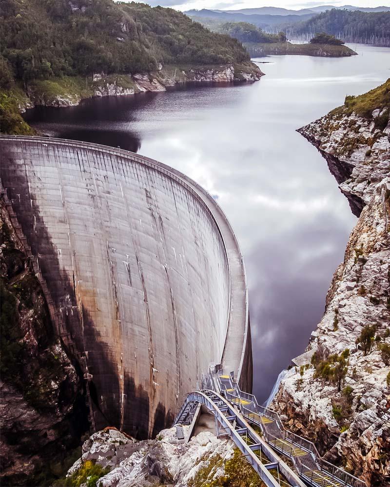 Gordon Dam, Australia, facts, people, life, travel, megalophobia